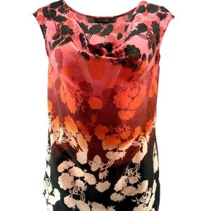 The Limited Blouse S Small Tank Waterfall Floral